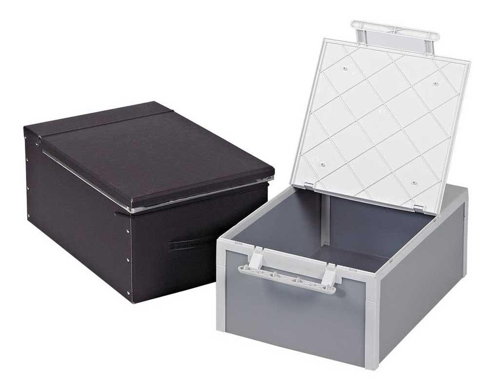 safety deposit boxes image