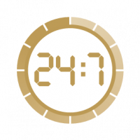 security measures icon 24-7